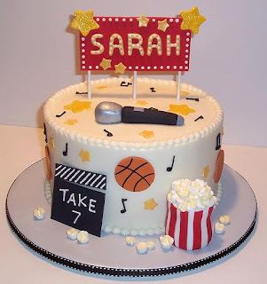 high school musical birthday cake