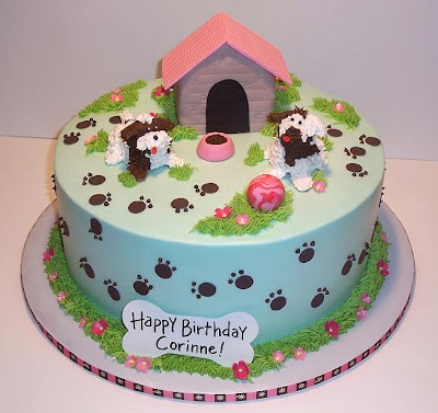 Birthday Cakes For Dog Lovers images