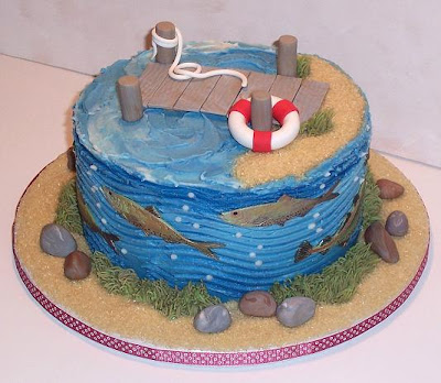 how to make a fondant fishing boat
