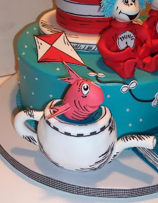 Fish Birthday Cakes. Maybe the fish just needed to