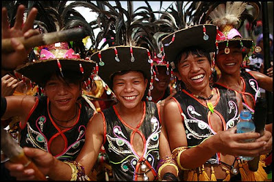 The Filipino In Different Faces Pintados Festival