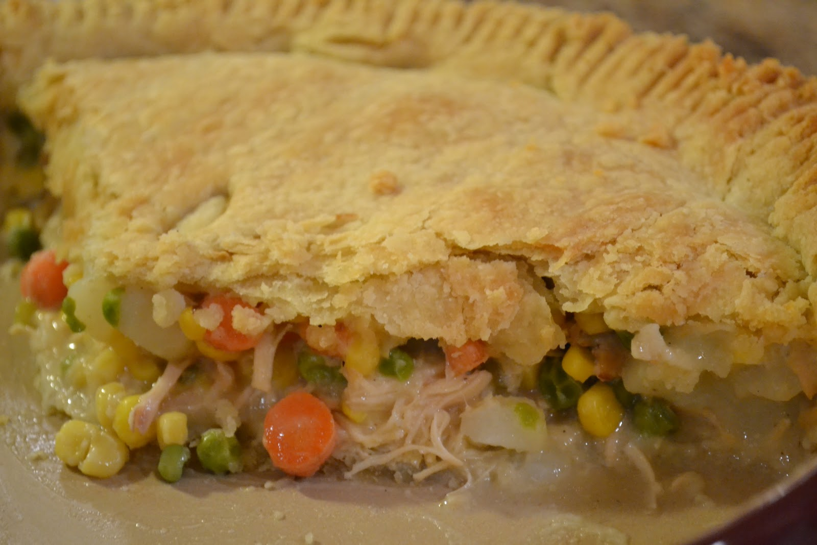 Stella B's Kitchen: Chicken Pot Pie