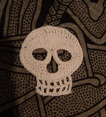 Crochet Crossbones Pattern Skull Crochet Patterns