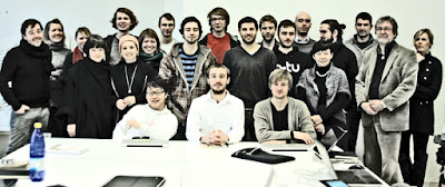 EAD | ASG 2011-01-10 A.S.G. Workshop_2 starts at Tallinn [C1] Reiseuni Class_01 with Prof. Irina Raud, Prof. Rein Murula and lector Kai Süda [photo: Anne Gross, editing: jp3]
