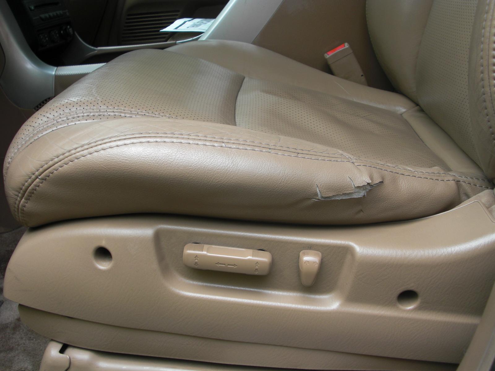 2005 Honda Pilot EX-L: Front Seats