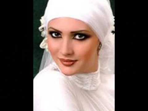 heavy arabic makeup. hijab styles and arabic makeup
