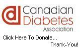Please Donate To The Canadian Diabetes Association