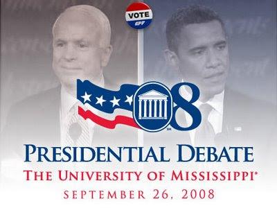 presidential debate, john mccain, barack obama