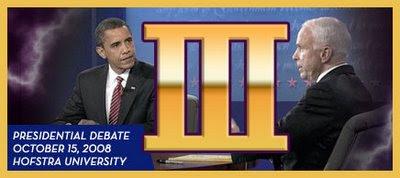 barack obama, john mccain, debate, hofstra, third