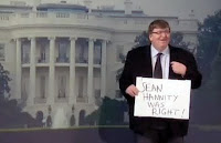 michael moore, sean hannity was right, white house