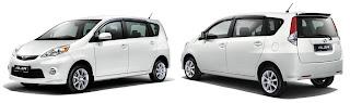 Perodua Alza Front & Rear