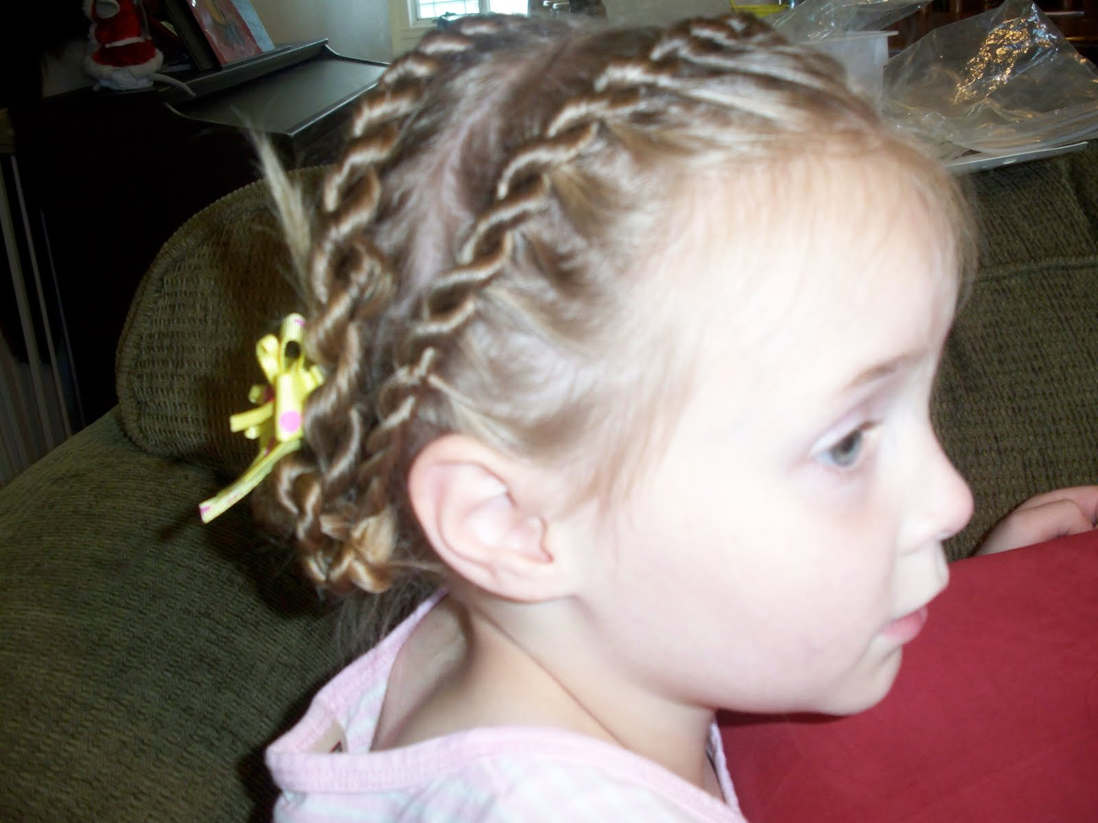 how to put on hair swirls