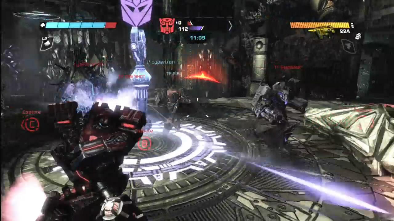transformer shooting games