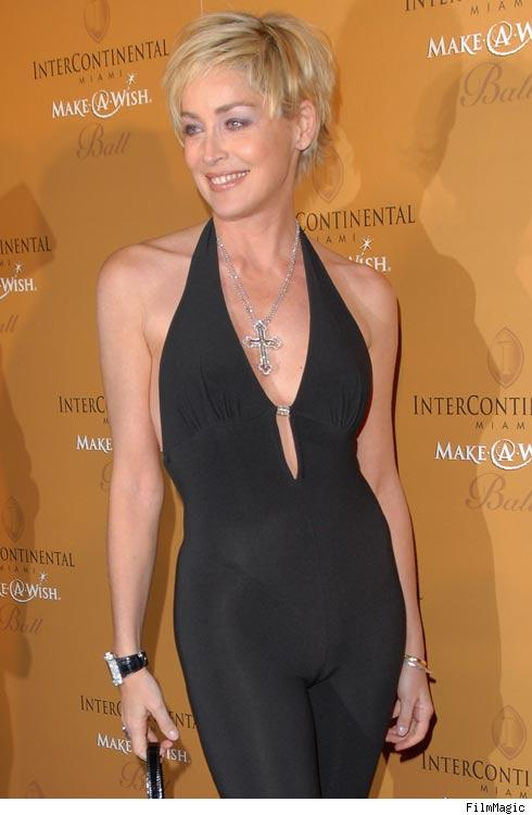 sharon stone camel toe