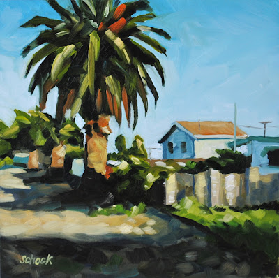 California Oil Painting by Sharon Schock