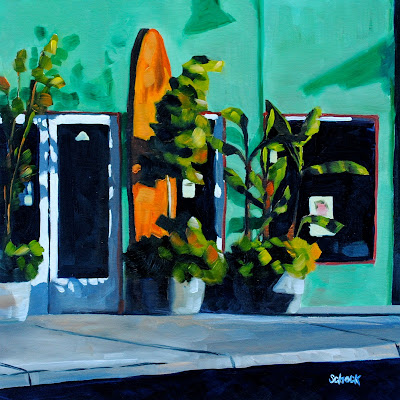 surf shop painting