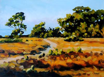 california oil painting