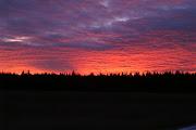 December 2008 Montana sunset