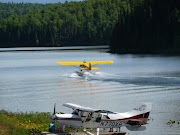 Bush plane for viewing Denali...Fish Lake