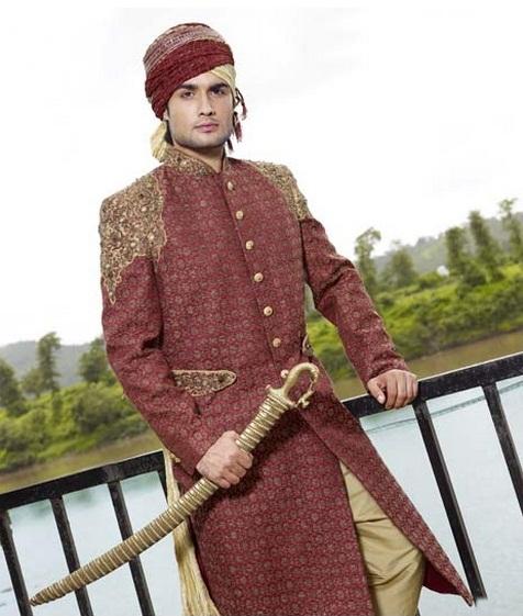as mil e uma ndias sherwani   moda indiana masculina