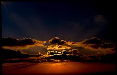 Ένα υπέροχο ηλιοβασίλεμα!