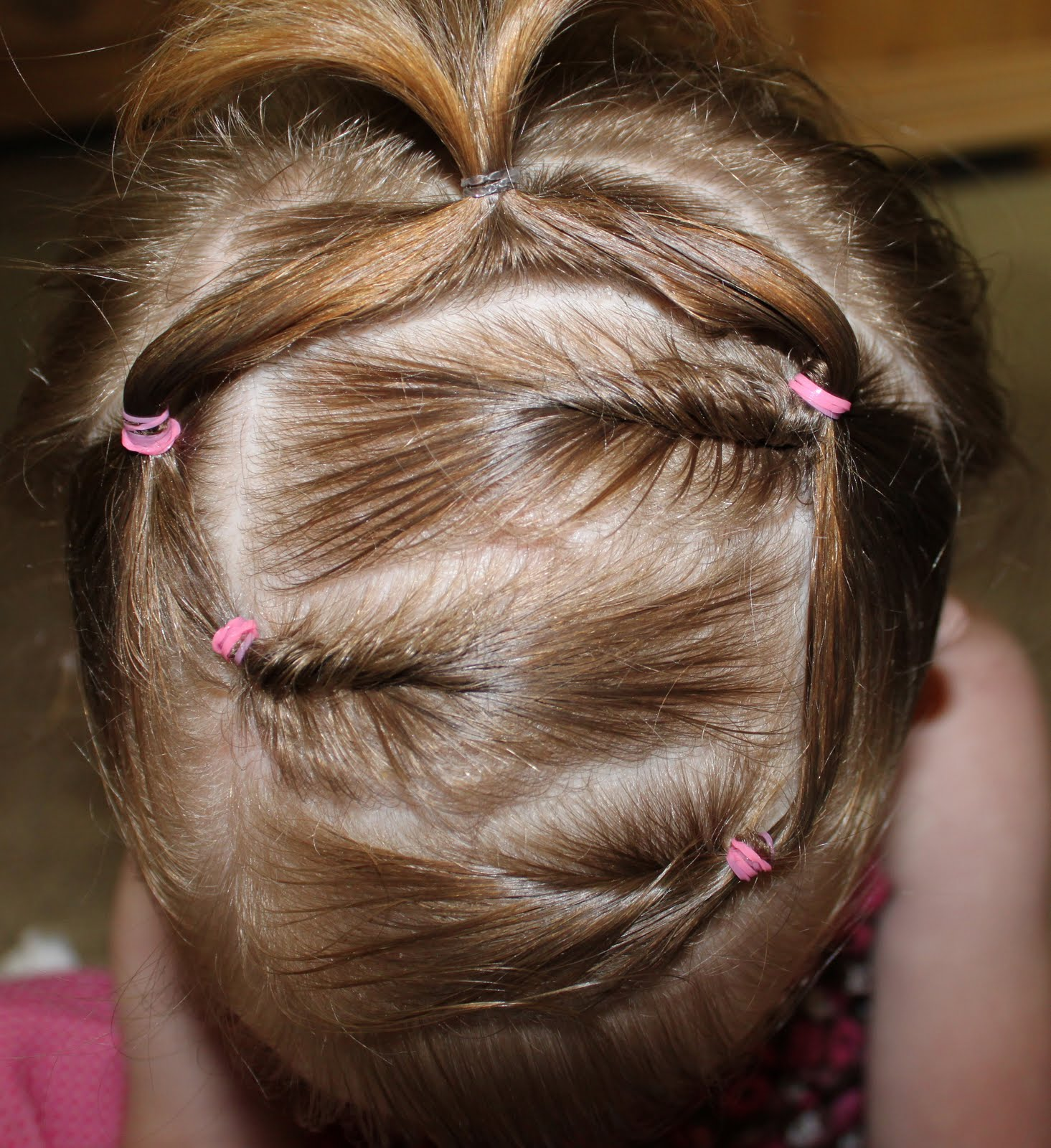 Причёски с плетением бантики