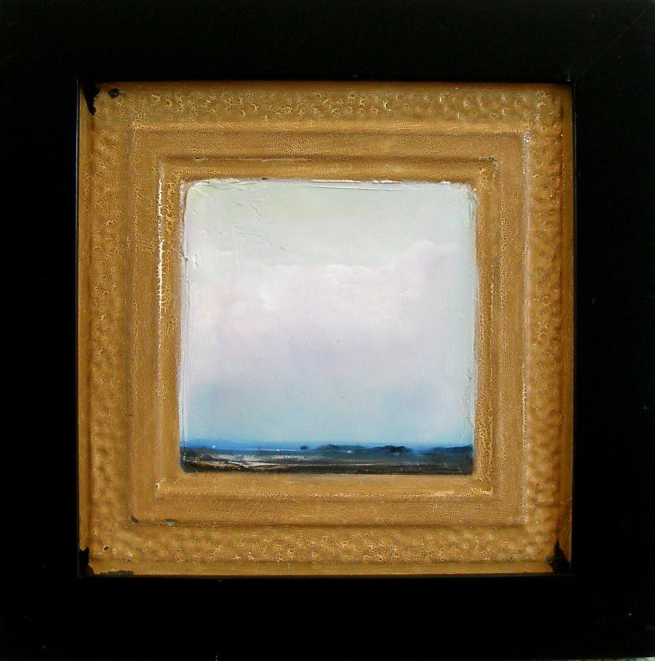 Minimalist landscape painting