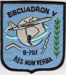 Escuadrón V de Transporte Aéreo Boeing 707 ( Desde DIC-1982 a 2006):