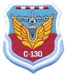 Distintivo Escuadrón I de Transporte Aéreo C-130 Hércules (desde 1967 a la actualidad):