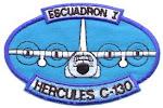 Distintivo Escuadrón I C-130 Hércules: