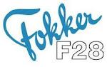Escudo Fokker F-28 Fellowship: