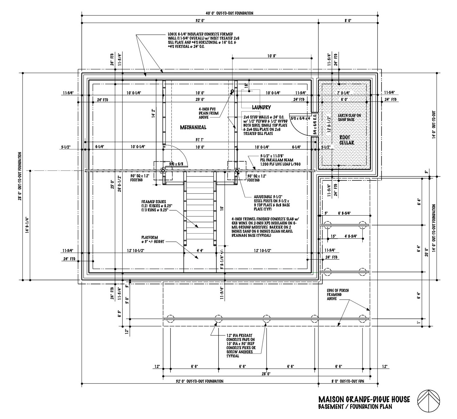 Concrete basement homes plans over 5000 house plans for Icf building plans