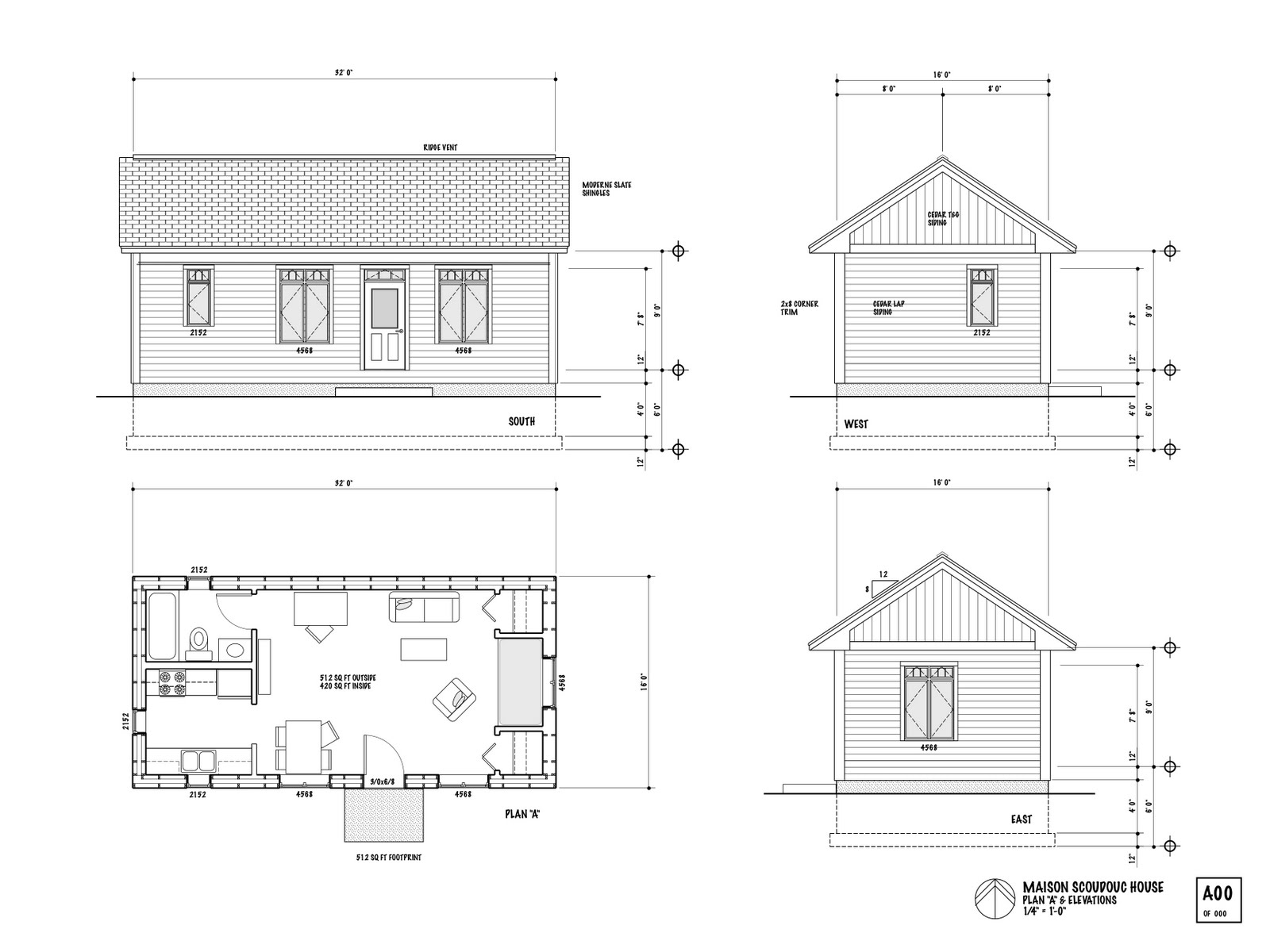 Nb superinsulated house - Plan de maison plein pied ...