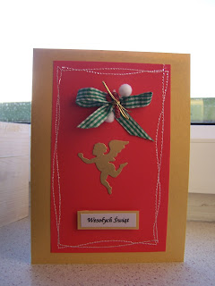 Christmas cards - red&gold 1