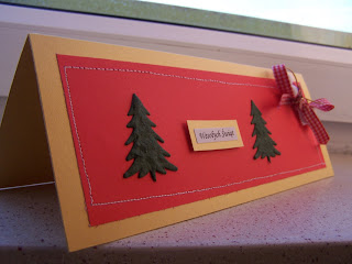 Christmas cards - red&gold 2