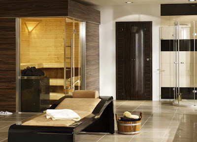 Bathroom Idea  by B+S Finland Sauna