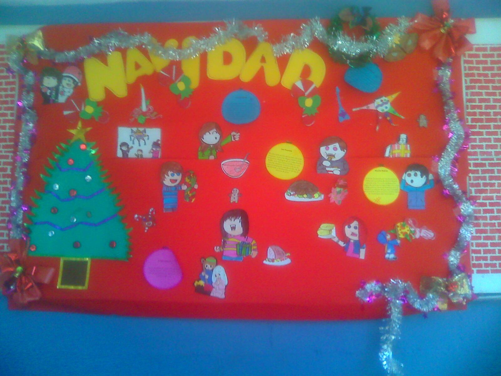 Daniel arturo canchola serrano - Mural navidad infantil ...