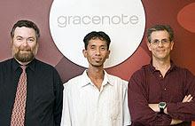 I creatori di Gracenote per il riconoscimento mp3