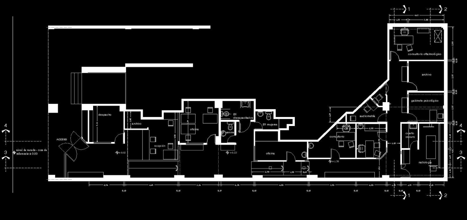 Das haus estudio de arquitectura y dise o cl nica c r e a for Estudio de arquitectura y diseno