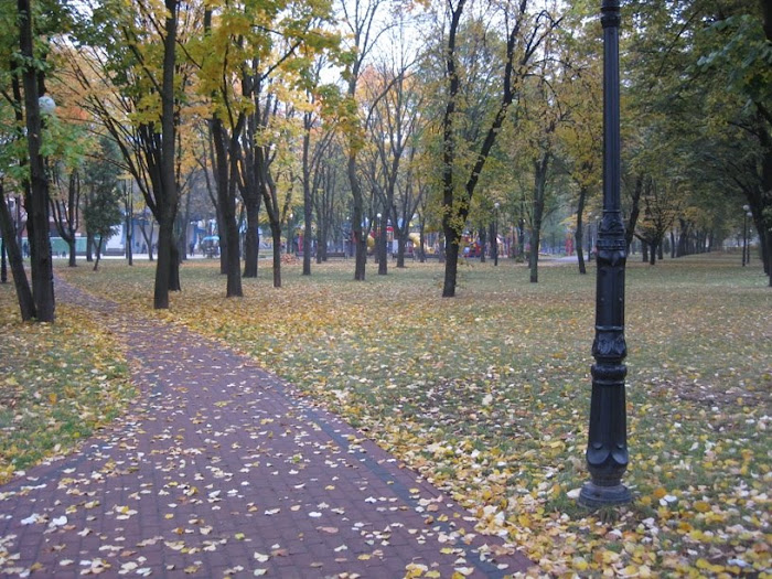 Nekrasov Park on Sevastopol Square