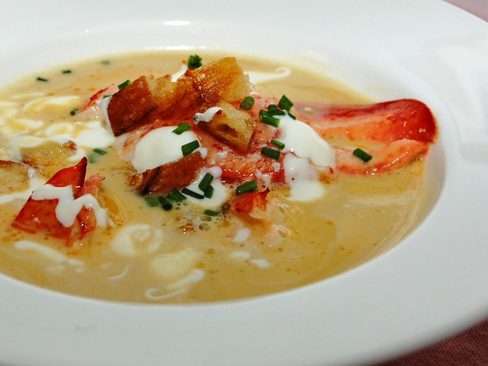 Feast: Lobster Squash Bisque