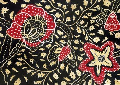 batik sablon yaitu batik yang motifnya dicetak dengan klise