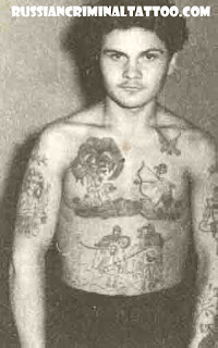 Russian criminal tattoo