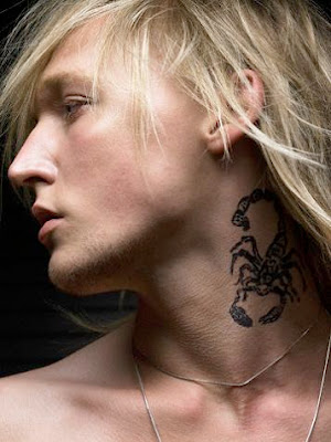 star tattoo designs neck