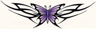 Feminine Tattoos Design With Image Butterfly Tattoo Designs On The Lower Back Picture 6