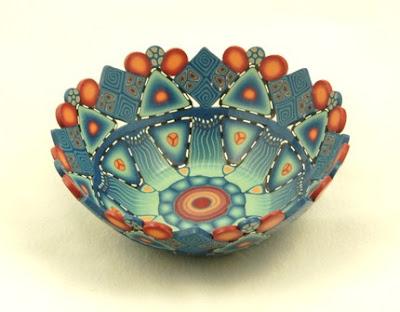 polymer clay, bowl