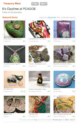 polymer clay treasury