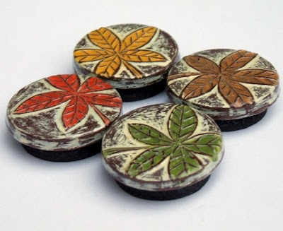 polymer clay refrigerator magnets