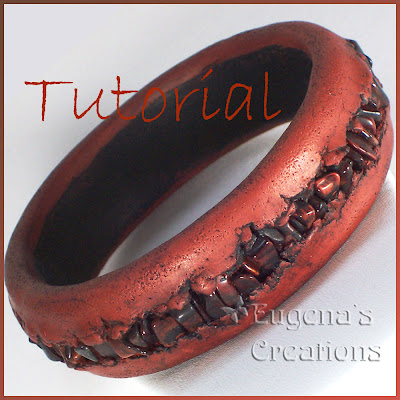 polymer clay bracelet tutorial