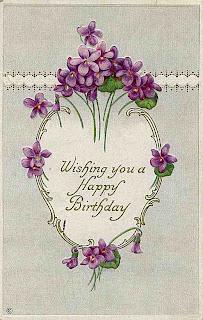 violets 10 742934 Violetas estilo Vintage para decoupage para crianças